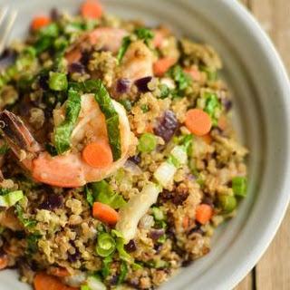 Shrimp Quinoa 'Fried Rice' Recipe