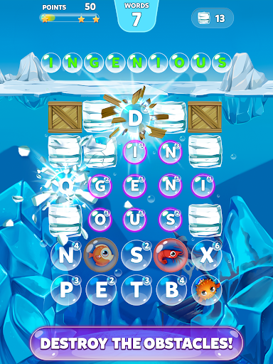 Bubble Words - Letter Splash (Mod)