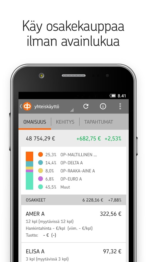 Op Mobiili Android Versio