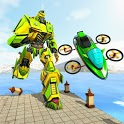 Jet Ski Robot Transform - Rescue Robot Games icon