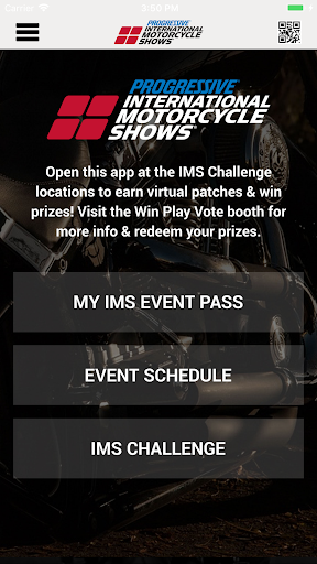 IMS Mobile App Screenshot
