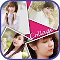 Selfie Frame Collage icon