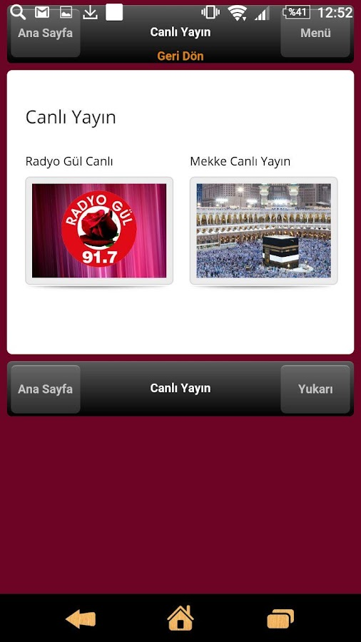 Radyo Gül- screenshot
