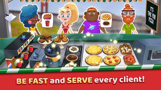 Pizza Truck California - Fast Food Cooking Game 1.0 de.gamequotes.net 2