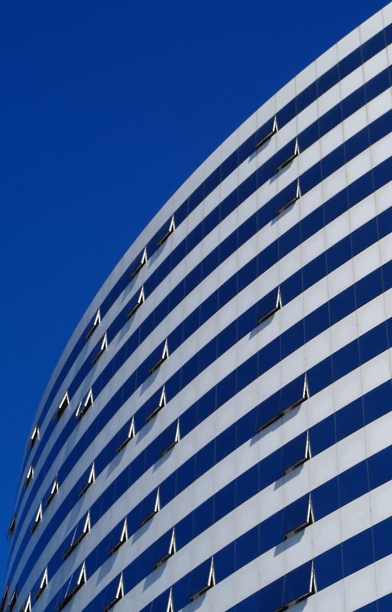 Bianco e Blu nel Blu di IAphoto