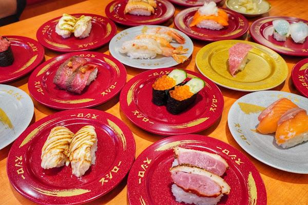 日本超人氣壽司郎 終於進軍台南了 一次開南紡/安平二家分店超過百種選擇!壽司控吃起來!