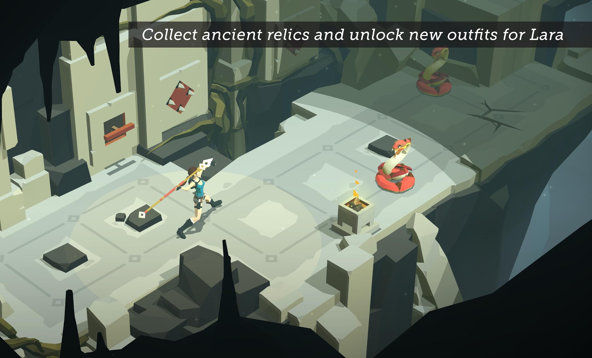 Lara Croft GO screenshot #8