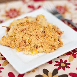 Corn Casserole with Bacon and Cream Cheese Recipe
