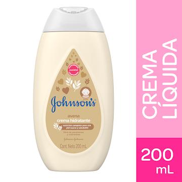 Crema liquida Johnsons baby avena natural 200 ml