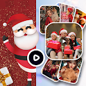 Christmas Video Maker - Music Photo Video Maker icon