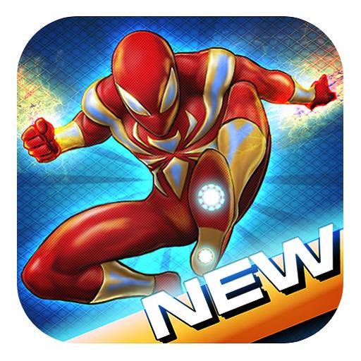 Flying Iron Spider Hero Adventure New