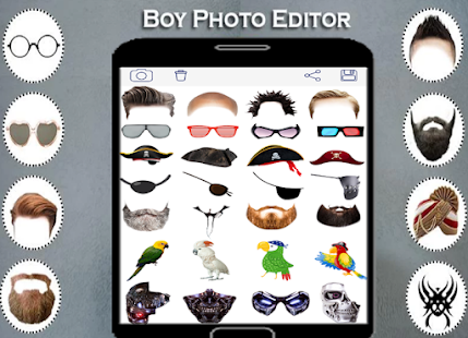 Boy photo editor 2018 Hairstyles - náhled