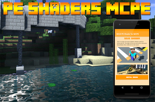 SEUS PE Shader for MCPE for PC