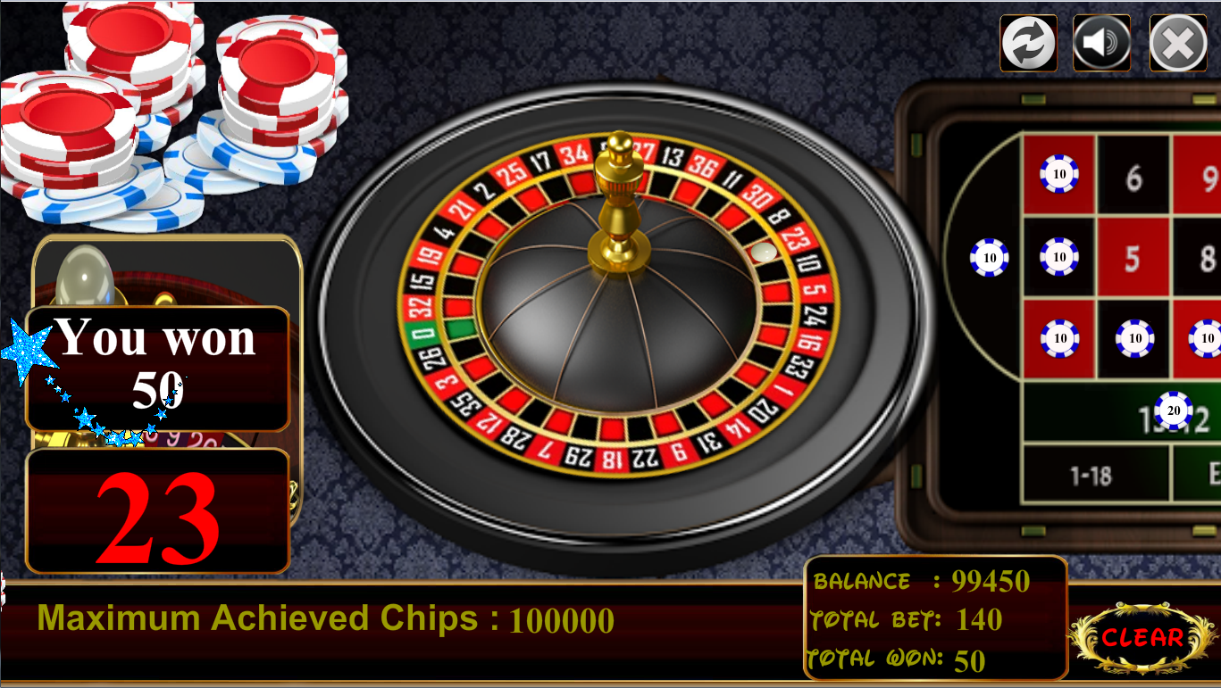 Roulette- screenshot