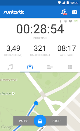 Runtastic Running & Fitness 5.3.4 screenshot 31769