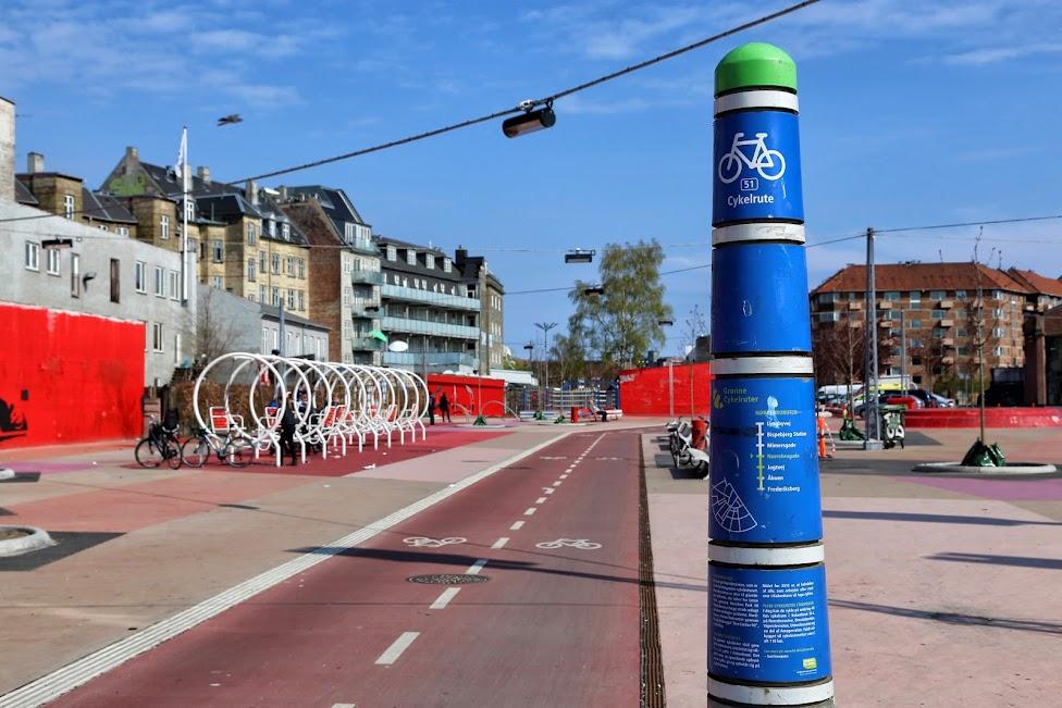 Ścieżka rowerowa, autostrada rowerowa, Kopenhaga, rowerowa stolica Europy