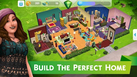 The Sims Mobile Mod Apk 24.0.0.104644 (Unlimited Money) 3