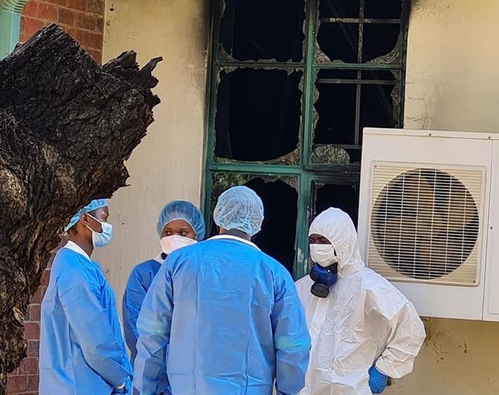 The Limpopo health department and its MEC are working to ascertain the cause of the fire.