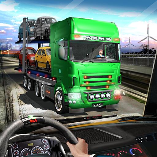 Off-Road Car Transport Truck