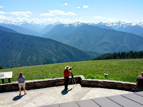 Photo: Hurricane Ridge in the Olympic Mountains