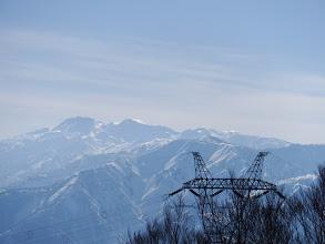 白山と鉄塔