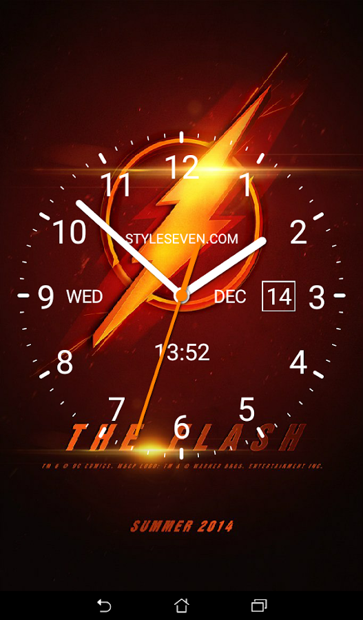 Analog Clock LiveWallpaper7PRO- screenshot