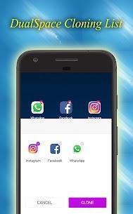 Dual Space – Multiple Space – App Cloner 3