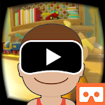 VR 360 videos for kids icon