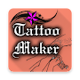 Tattoo Maker - tattoo design app tattoo font APK icon