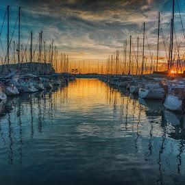 by David Solodar - Transportation Boats