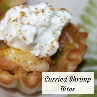 Curried Shrimp Bites.