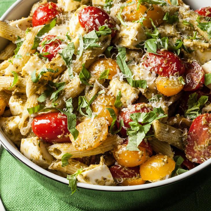 Classic Pesto Pasta Salad