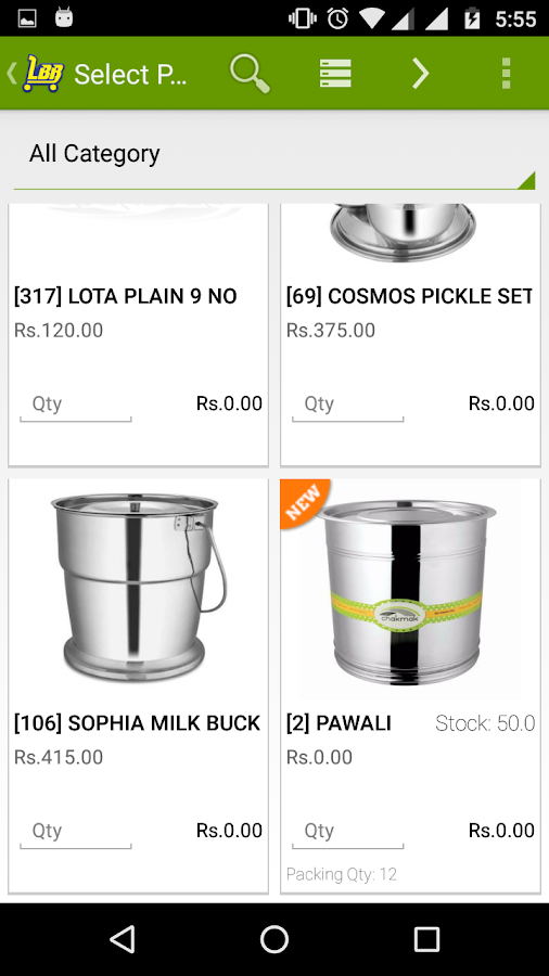 Luxmi bartan bhandar android apps on google play for Kitchen set bartan