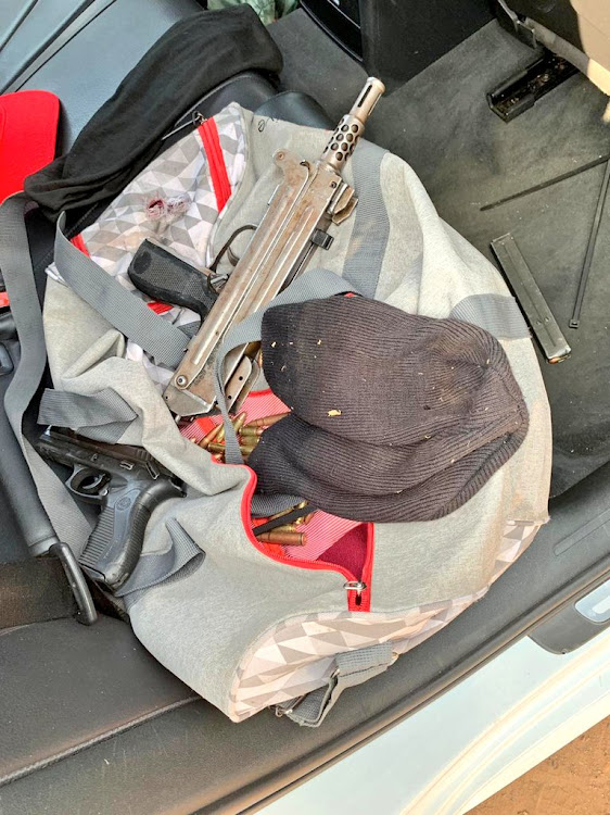 Johannesburg Metro Police Department offices on Thursday seized three firearms, including an AK47 and a BxP semi automatic rifle, during an undercover operation.