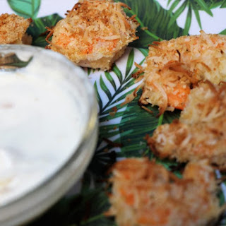 Baked Coconut Shrimp.