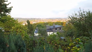 Photo: Blick von der Tannenstraße (Philippshöhe) zur Philippstraße und nach Emst.