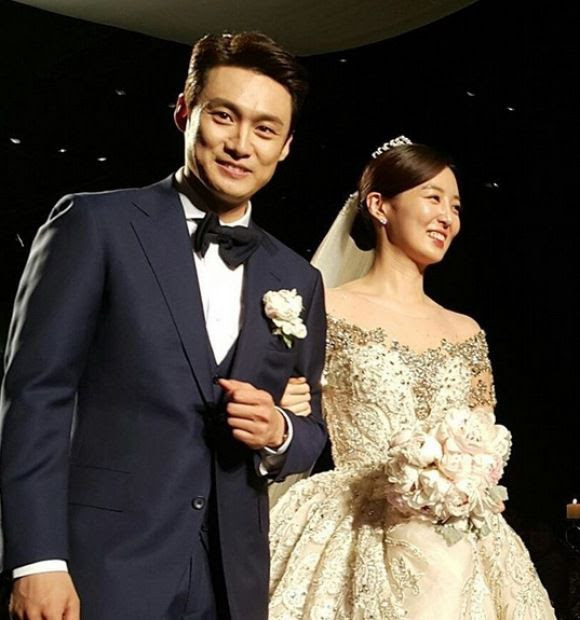 Oh Sang-jin Davis wedding