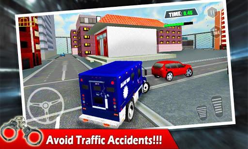 Armored Money Truck Crime City