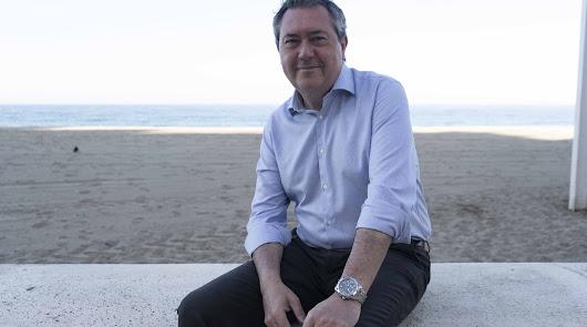 """Juan Espadas: """"No soy candidato de Madrid ni de Sevilla, sino de la militancia"""""""