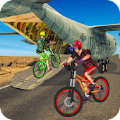 BMX Bicycle Transporter Grand Truck: Cycle Games