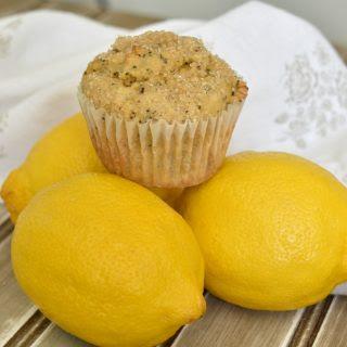 """Vintage"" Easy Lemon Poppy Seed Muffins."