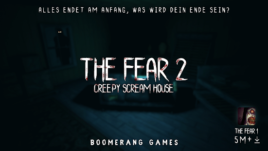 The Fear 2 : Creepy Scream House Horror Spiel 2018 Screenshot