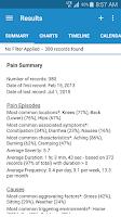 Screenshot of Manage My Pain Pro