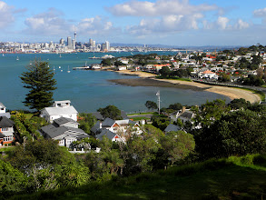 Photo: View of Auckland from Devonport
