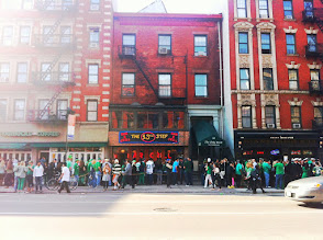 Photo: Bars in East Village on St Partricks