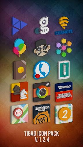 Tigad Pro Icon Pack  screenshots 3
