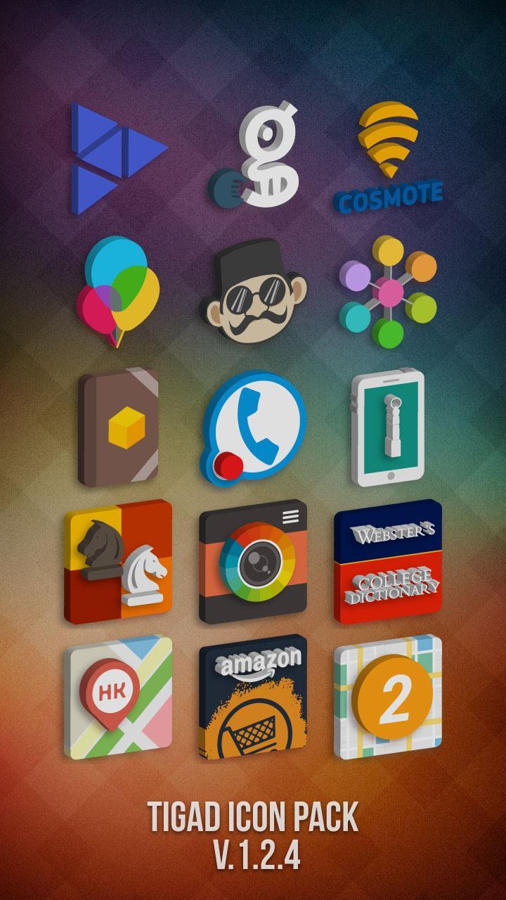 Tigad Pro Icon Pack Screenshot 2