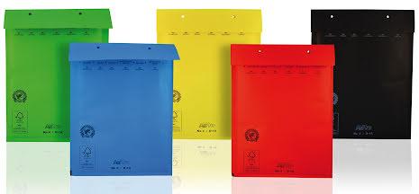 Blå Luftbubbelpåse 175x 265mm