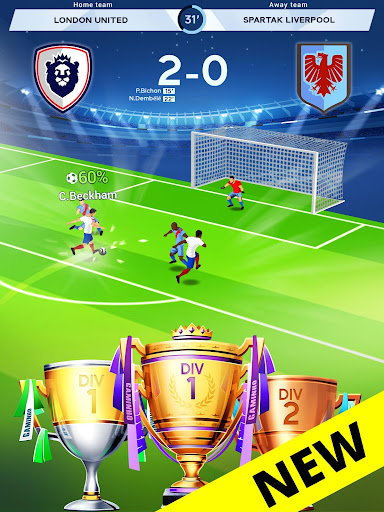 Idle Eleven - Be a millionaire soccer tycoon apkpoly screenshots 8