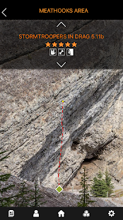 Sloper Outdoor Rock Climbing Guide Beta- screenshot thumbnail